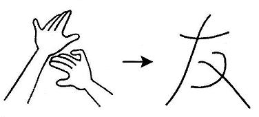 kanji 友