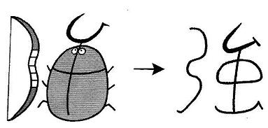 kanji 強
