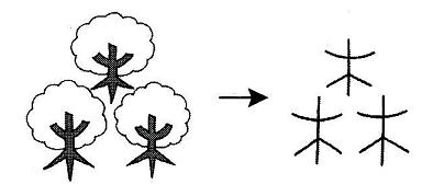kanji 森