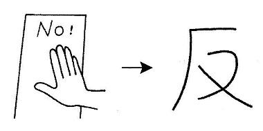kanji 反