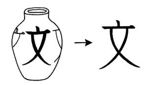 kanji 文