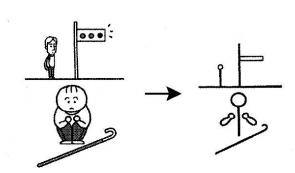 kanji 歩