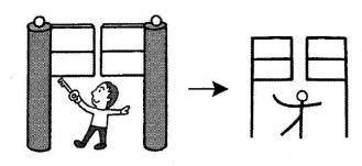 kanji 閉
