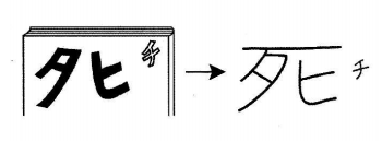 kanji 死