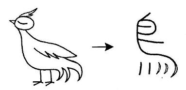 kanji 鳥