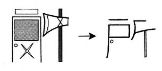 kanji 所