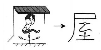 kanji 屋