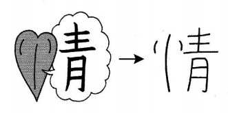 kanji 情