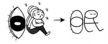 kanji 眠