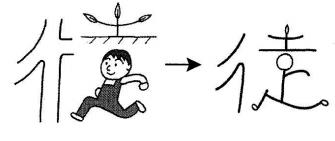 kanji 徒