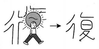kanji 復
