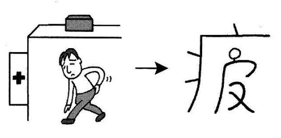 kanji 疲