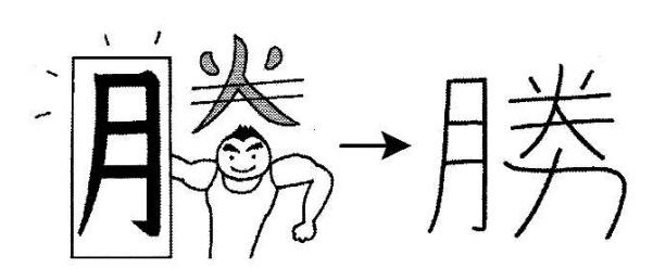 kanji 勝