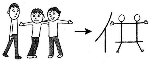 kanji 供