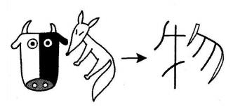 kanji 物