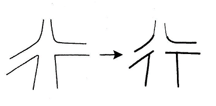 kanji 行