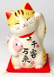 Maneki Neko 30 món quà lưu niệm phổ biến tại Nhật Bản