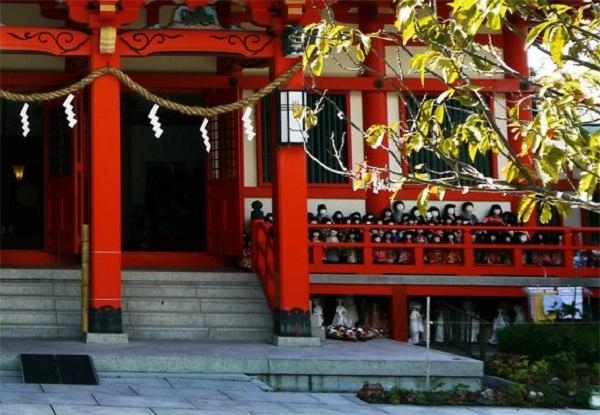 Awashima Jinja Awashima   Đền tưởng niệm búp bê Nhật Bản