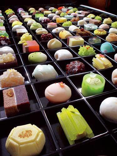Bánh Wagashi- Nét tinh hoa trong ẩm thực Nhật Bản