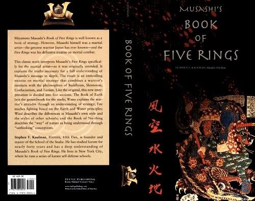 A Book of Five Rings Bí kíp bất bại của huyền thoại Samurai Nhật Bản