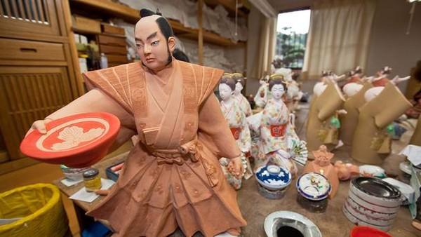 Biểu tượng văn hóa dân gian Ningyo ở Nhật Bản 5 Biểu tượng văn hóa dân gian Ningyo Nhật Bản