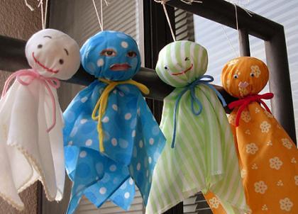 teru teru bozu Búp bê cầu nắng Tezu Tezu Bouzu Nhật Bản