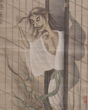 female ghosts japan Các loại ma ở Nhật Bản (p1)