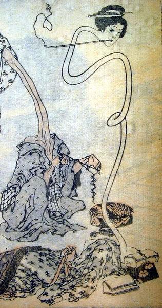 hokusai rokurokubi wikipedia Các loại ma ở Nhật Bản (p2)