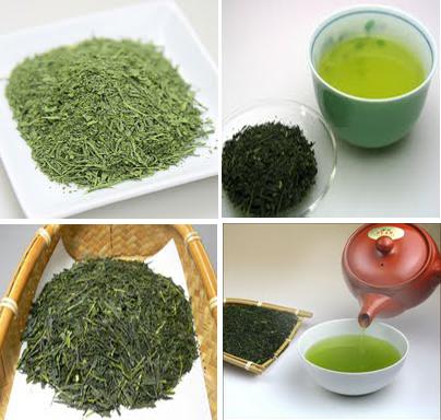 Sencha Các loại trà ở Nhật Bản