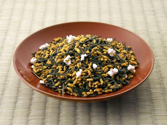 Genmai cha Các loại trà ở Nhật Bản