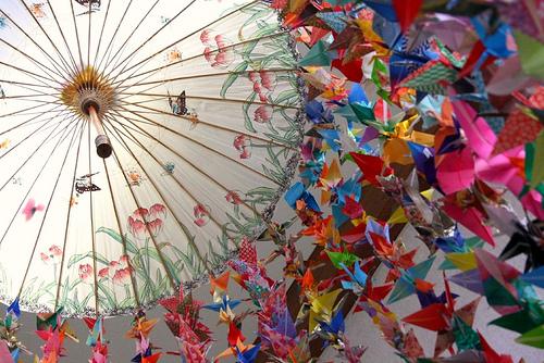 chim hac 5 Chim hạc   Biểu tượng văn hóa của Nhật Bản