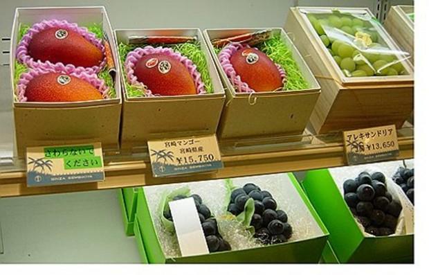 cua hang trai cay Sembikiya tokyo 9 Cửa hàng trái cây đắt đỏ bậc nhất Tokyo