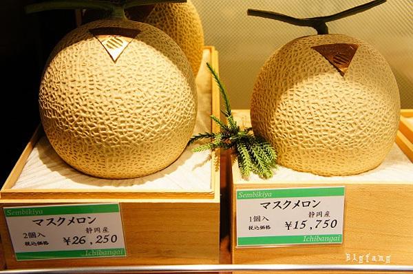 cua hang trai cay Sembikiya tokyo 10 Cửa hàng trái cây đắt đỏ bậc nhất Tokyo
