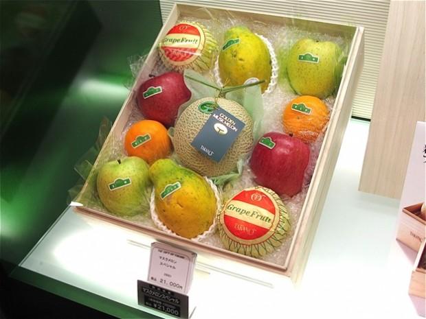 cua hang trai cay Sembikiya tokyo 6 Cửa hàng trái cây đắt đỏ bậc nhất Tokyo
