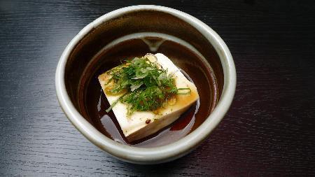 Đậu hũ sắc đặc sản Kyoto