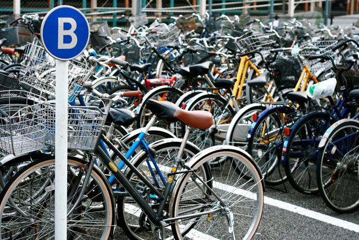 xe dap nhat 2 Đi xe đạp ở Nhật Bản như thế nào?