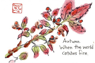 tranh etegami Nhat ban Độc đáo nghệ thuật viết thư tranh etegami Nhật Bản