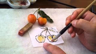 tranh etegami Nhatban duhochoasen Độc đáo nghệ thuật viết thư tranh etegami Nhật Bản