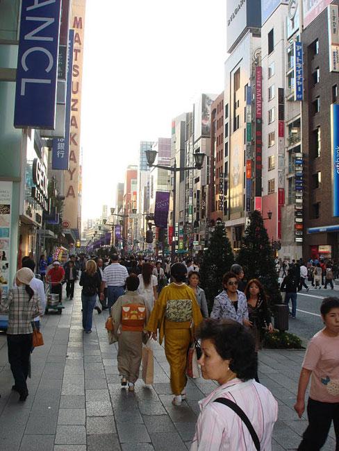 2. Ginza   thiên đường ăn chơi thời thượng của Tokyo