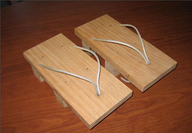 guoc go geta 4 Guốc gỗ Geta   Nét đẹp văn hóa Nhật Bản