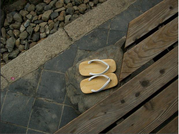 guoc geta 3 Guốc gỗ Geta   Nét đẹp văn hóa Nhật Bản