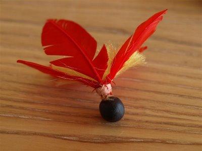 hagoita hane Hagoita – Vật may mắn của các bé Nhật Bản