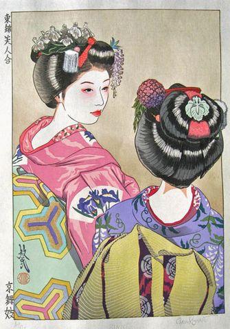Kanzashi Nihongami Kanzashi: Trâm cài tóc Nhật Bản