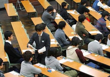 Kỳ thi đại học ở Nhật Bản