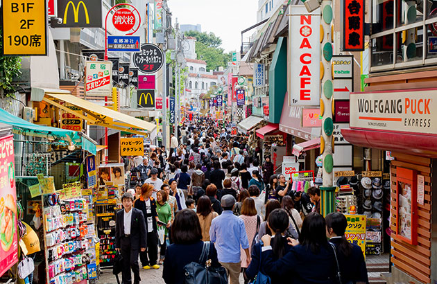 Harajuku 1 La cà những khu mua sắm tuyệt nhất Tokyo