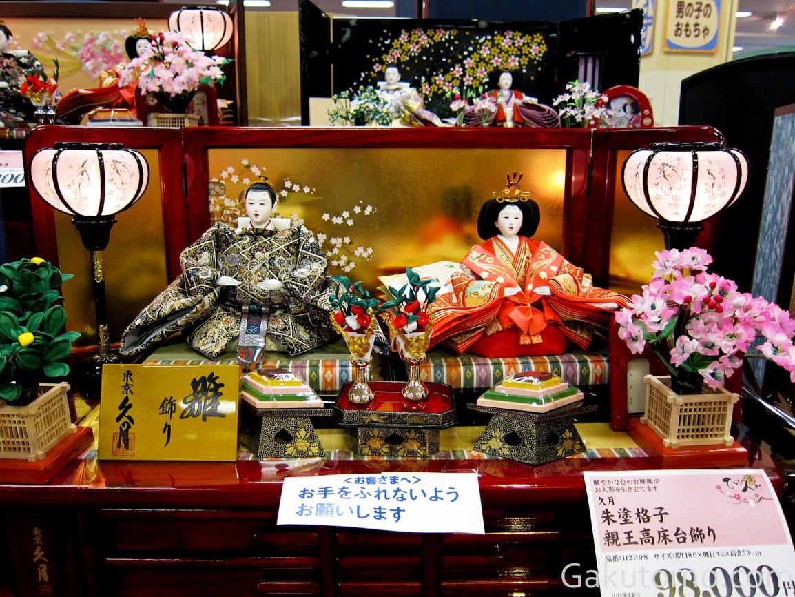 girl day pic8 Lễ hội búp bê Hina Matsuri