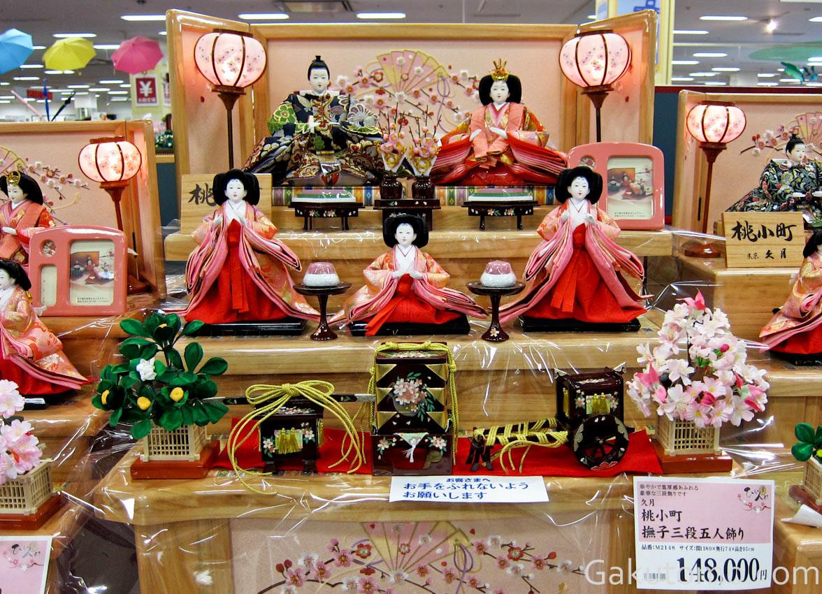 girl day pic10 Lễ hội búp bê Hina Matsuri