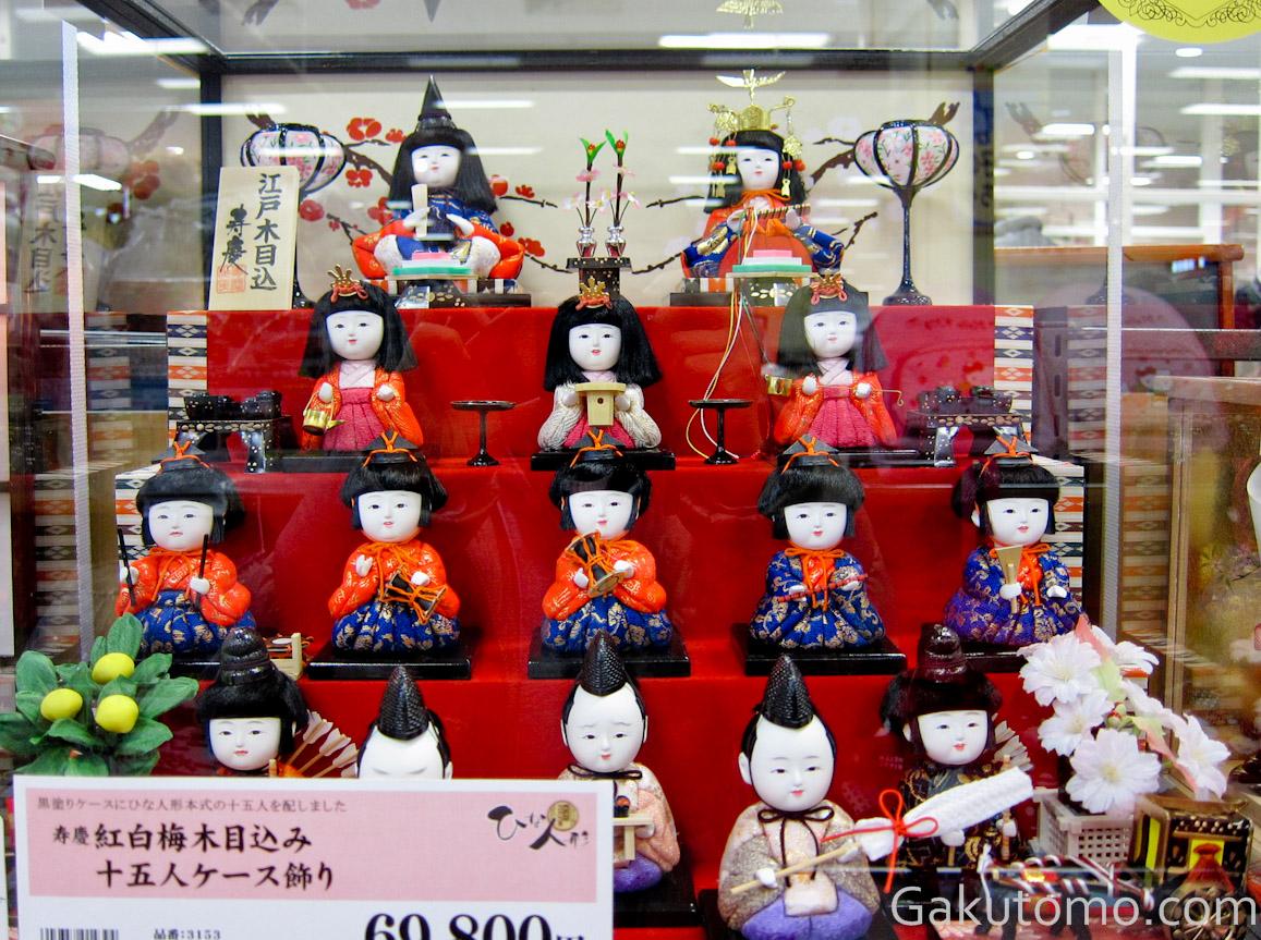 girl day pic11 Lễ hội búp bê Hina Matsuri