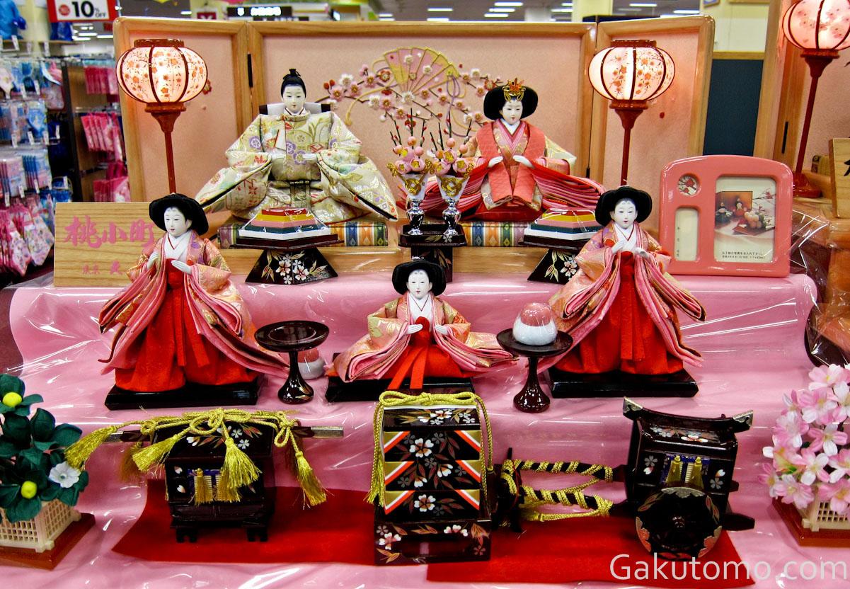 girl day pic5 Lễ hội búp bê Hina Matsuri