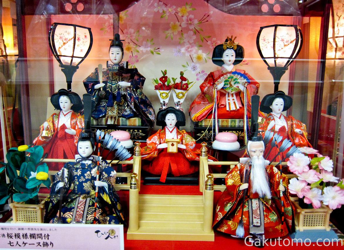 girl day pic6 Lễ hội búp bê Hina Matsuri